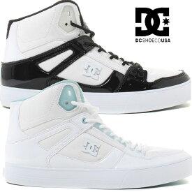 DC スニーカー dc shoes ディーシー【PURE HIGH-TOP WC SE SN 】ピュア ハイトップ DM182019