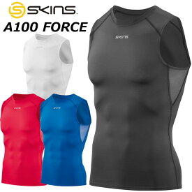 SKINS スキンズ メンズ スリーブレス A100 FORCE メンズ スリーブレストップ ノースリーブ DF01059001【返品種別OUTLET】