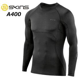 スキンズ SKINS A400 ULTIMATE メンズ ロングスリーブトップ゜ (19SS)DU01059001 コンプレッション 【返品種別OUTLET】