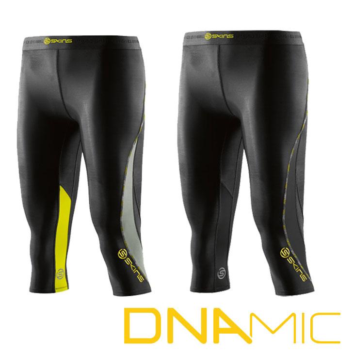 スキンズ レディース タイツ 3/4 skins DNAmicTights コンプレッション 【正規品】 DA06089033