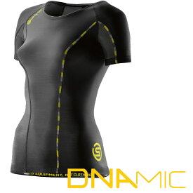 スキンズ レディース ショートスリーブ トップ skins A200 DNAMIC CORE ウィメンズ ショートスリーブコンプレッション 【正規品】DA06049033