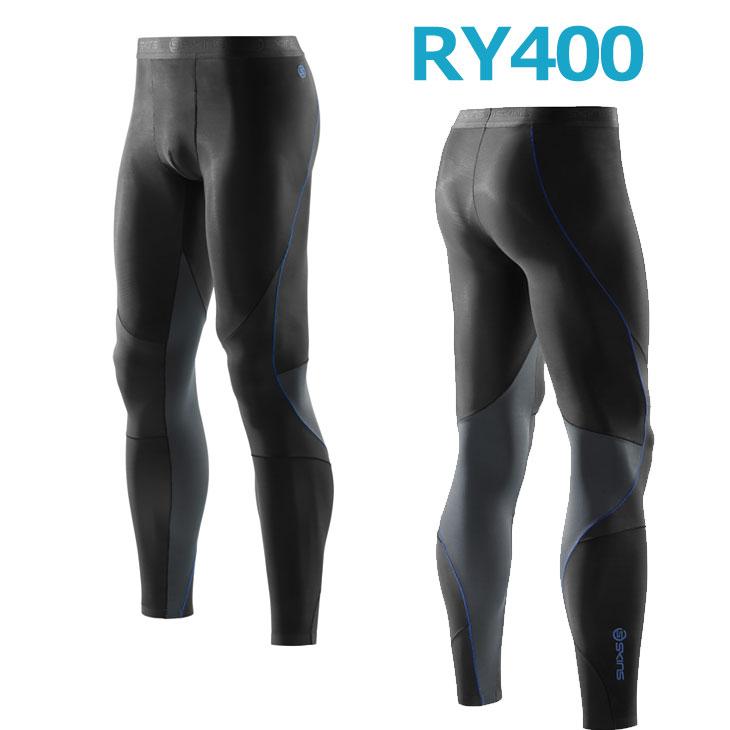 skins RY400 メンズロングタイツ New (スキンズ )K43205001D コンプレッション インナー リカバリー