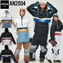 スノーボードウェア 撥水パーカー アノラック メンズ レディース 20-21 ANTHEM アンセム AN2004 WINGZIP ANORAK予約販…