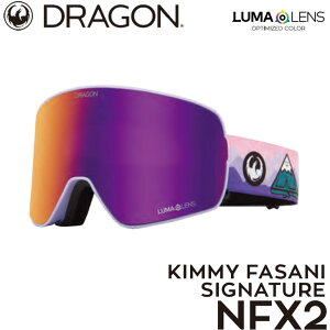 21-22 DRAGON ドラゴン ゴーグル【NFX2】KIMMY FASANI LUMA LENS ship1