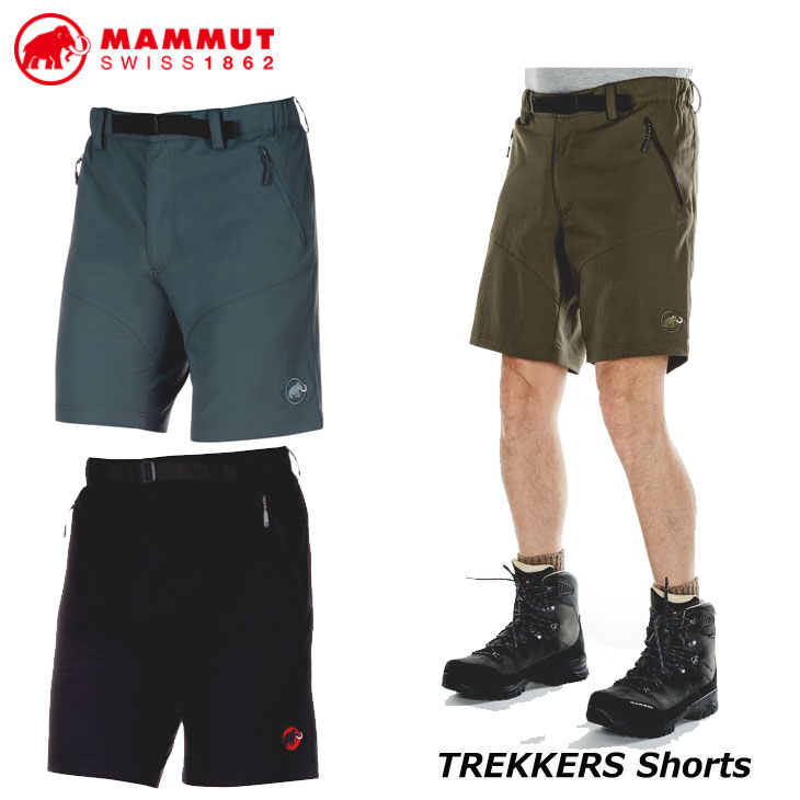 MAMMUT マムート ハイキング ショート パンツ メンズ TREKKERS Shorts Men 短パン 正規品 ship1