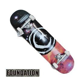 スケートボード コンプリート FOUNDATION ファンデーション STAR & MOON GALAXY OG 7.875 完成品スケボー SKATE COMPLETE