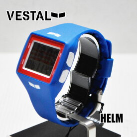 VESTAL ベスタル WATCH 腕時計 【HELM 】HLMDP05】Blue/White/Red/Positive ship1【返品種別OUTLET】