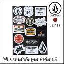 volcom JapanLimited ボルコム マグネット メンズ 【Pleasant Magnet Sheet 】マグネットシート VOLCOM ヴォルコム 【…