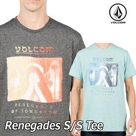 ボルコム tシャツ メンズ volcom 【Renegades S/S Tee 】半そで 半袖 VOLCOM 【返品種別OUTLET】