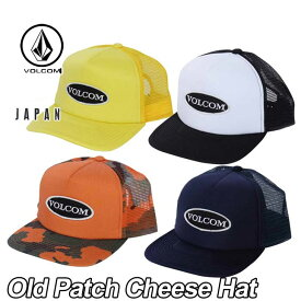 volcom Japan Limited ボルコム キャップ メンズ 【Old Patch Cheese Hat 】VOLCOM CAP 帽子 メール便不可【返品種別OUTLET】
