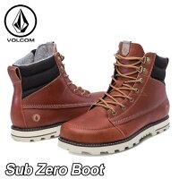 volcomボルコムスニーカーメンズ【SubZeroBoot】カラー【RUST】シューズ靴ブーツ【あす楽_年中無休】