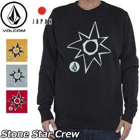 volcom ボルコム トレーナー Stone Star Crew メンズ クルーネック A46318JB JapanLimited 【返品種別OUTLET】