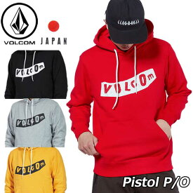 volcom ボルコム パーカー Pistol P/O メンズ A41318JA JapanLimited 【返品種別OUTLET】