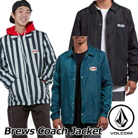 volcom ボルコム コーチジャケット Brews Coach Jacket メンズ A1531801 【返品種別OUTLET】