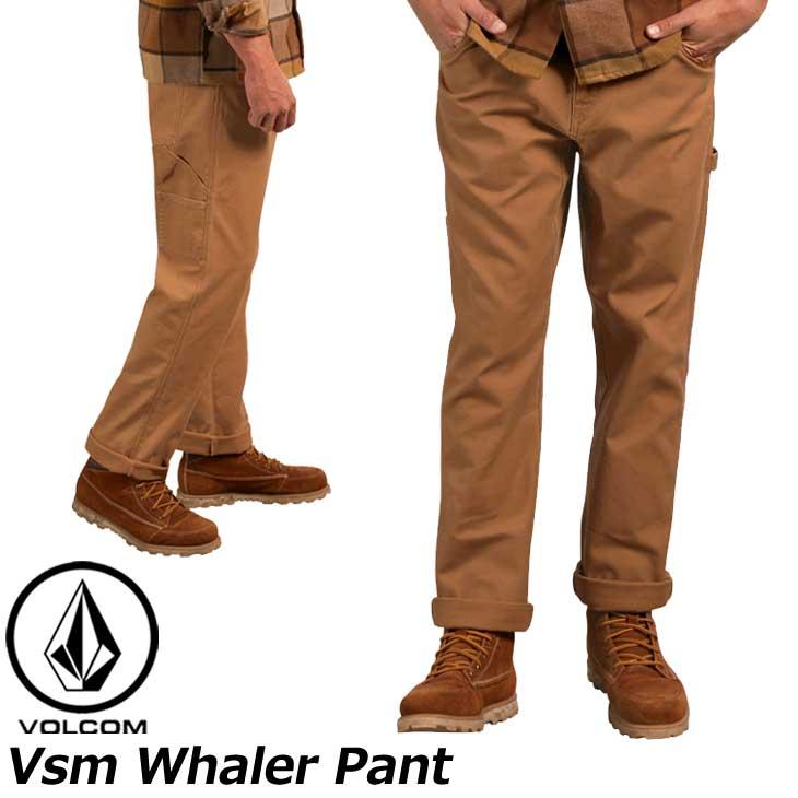 volcom ボルコム チノパンツ Vsm Whaler Pant メンズ A11318051 【返品種別OUTLET】