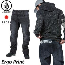 volcom ボルコム デニムパンツ Ergo Print メンズ japan limited A19318JB 【返品種別OUTLET】