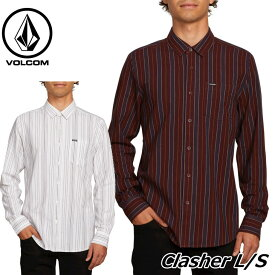 volcom ボルコム シャツ Clasher L/S メンズ 長袖 A0541800 【返品種別OUTLET】