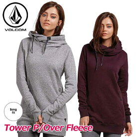 18-19 volcom ボルコム レディース パーカー スノーボード Tower P/Over Fleece H2451904 【返品種別OUTLET】