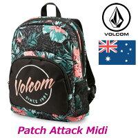 volcomボルコムリュックPatchAttackMidiBkpkレディースE6531612