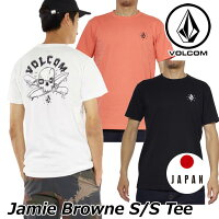 ボルコムtシャツメンズ【JamieBrowneS/STee】アジアンフィットvolcom半袖半そでjapanlimitedメール便可