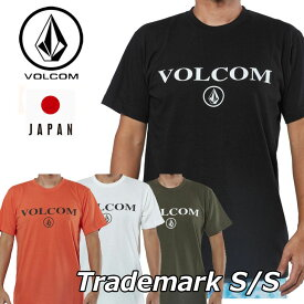 volcom ボルコム tシャツ Trademark S/S Tee メンズ Japan Limited 半袖 A50218JG 【返品種別OUTLET】