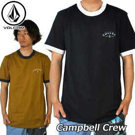 volcom ボルコム Tシャツ Campbell Crew メンズ 半袖 A0121803 【返品種別OUTLET】