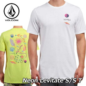 volcom ボルコム Tシャツ Neon Levitate S/S T メンズ 半袖 A5021805 【返品種別OUTLET】