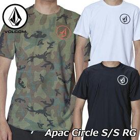 volcom ボルコム ラッシュガード Apac Circle S/S RG メンズ Japan半袖 N01119G0 2019 春 夏 新作 【返品種別OUTLET】