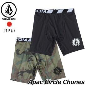 volcom ボルコム サーフインナーショーツ Apac Circle Chones メンズ N01119G2 【返品種別OUTLET】