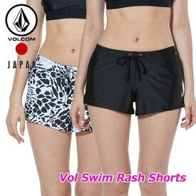 volcom ボルコム レディース ラッシュショーツ Vol Swim Rash Shorts japan O08119JA 2019 春 夏 新作 ship1