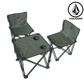 volcom ボルコム ビーチチェアーセット Circle Stone Beach Chair Set japan D67119JA 【返品種別OUTLET】