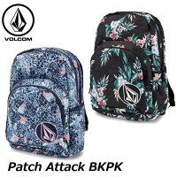 volcomボルコムレディースバックパックPatchAttackBKPKE6531875ship1