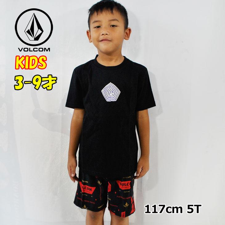 ボルコム volcom キッズ Tシャツ Noa Band S/S Tee LY 3-9歳 Y3511912