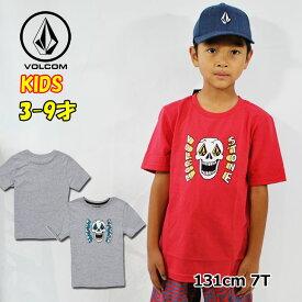 ボルコム volcom キッズ Tシャツ Stone Eyes S/S Tee LY 3-9歳 Y3511932