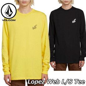 volcom ボルコム ロンT Lopez Web L/S Tee メンズ 長袖 A3611902 2019 春 夏 新作 【返品種別OUTLET】