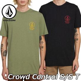 volcom ボルコム tシャツ Crowd Control S/S T メンズ 半袖 A5011904 2019 春 夏 新作 【返品種別OUTLET】