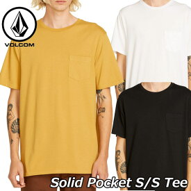 volcom ボルコム tシャツ Solid Pocket S/S Tee メンズ 半袖 A5031808 2019 春 夏 新作 【返品種別OUTLET】