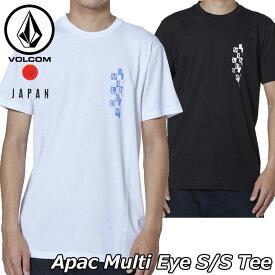 volcom ボルコム tシャツ Apac Multi Eye S/S Tee メンズ Japan半袖 AF011902 2019 春 夏 新作【返品種別OUTLET】