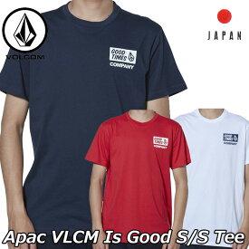 volcom ボルコム tシャツ Apac VLCM Is Good S/S Tee メンズ Japan半袖 AF511901 2019 春 夏 新作【返品種別OUTLET】