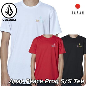 volcom ボルコム tシャツ Apac Peace Prog S/S Tee メンズ Japan半袖 AF511902 2019 春 夏 新作【返品種別OUTLET】