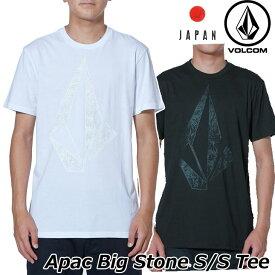 volcom ボルコム tシャツ Apac Big Stone S/S Tee メンズ Japan半袖 AF5119G0 【返品種別OUTLET】