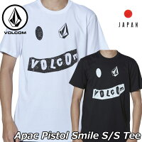 volcomボルコムtシャツApacPistolSmileS/STeeメンズJapan半袖AF5119G1ship1