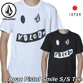 volcom ボルコム tシャツ Apac Pistol Smile S/S Tee メンズ Japan半袖 AF5119G1 2019 春 夏 新作【返品種別OUTLET】