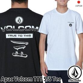 volcom ボルコム tシャツ Apac Volcom TTT S/S Tee メンズ Japan半袖 AF5119G3 2019 春 夏 新作【返品種別OUTLET】