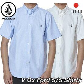 volcom ボルコム シャツ V Ox Ford S/S Shirts メンズ Japan半袖 A04119JA 2019 春 夏 新作