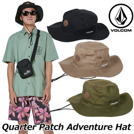 volcom ボルコム アドベンチャーハット Quarter Patch Adventure Hat メンズ japan D55119JA 2019 春 夏 新作 ship1