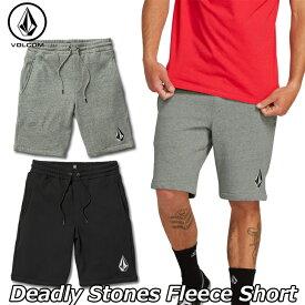 volcom ボルコム 短パン Deadly Stones Fleece Short メンズ A1041803 2019 春 夏 新作