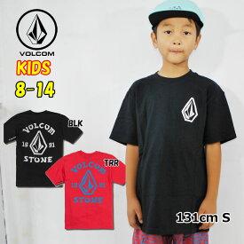 ボルコム キッズ Tシャツ volcom KIDS Big Outline S/S TEE 半袖 8-14歳 小中学生 Big Boys C3521902 ship1