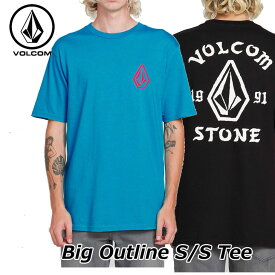 volcom ボルコム tシャツ メンズ Big Outline S/S Tee 半袖 A3521902 【返品種別OUTLET】