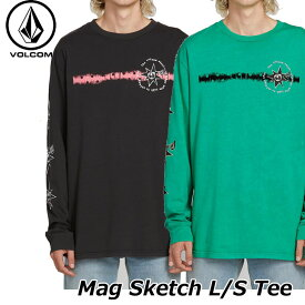 volcom ボルコム ロンt メンズ Mag Sketch L/S Tee 長袖 ロングスリーブ ティー A3621900 【返品種別OUTLET】